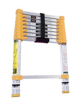 Yellow & Black Xtend & Climb Telescoping Ladder by Xtend & Climb