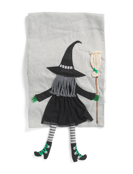 Dangle Leg Witch Table Runner by Tj Maxx