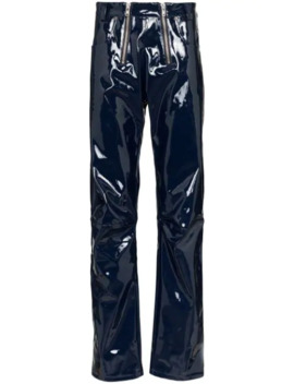 Thor Ruched Vinyl Trousers by Gmb H
