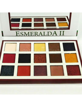 Esmeralda Beauty Creations Esmeralda Ii Beauty Shades Pigment Eyeshadow Palette by Beauty Creations
