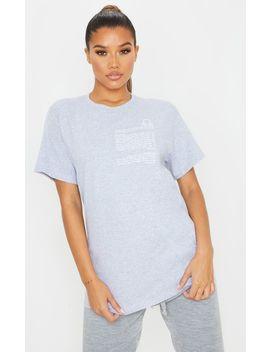 Grey Libra Star Sign Slogan T Shirt by Prettylittlething