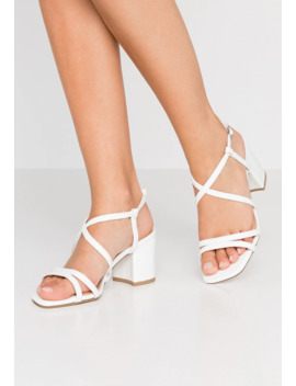 Wide Fit Tacho   Bridal Shoes by New Look Wide Fit