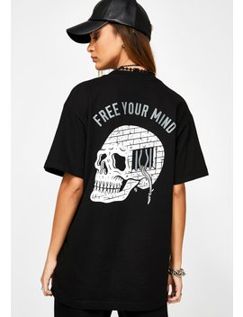 Free Your Mind Graphic Tee by Lurking Class