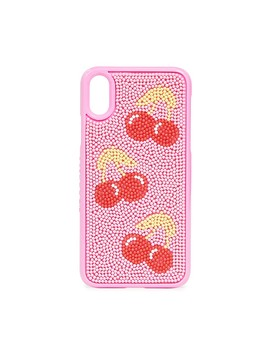 Cherry Beaded I Phone X / Xs Case by Skinnydip