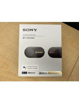 Sony Wf 1000 Xm3 Noise Canceling Headphones In Ear Wf1000 Xm3 Black by Ebay Seller