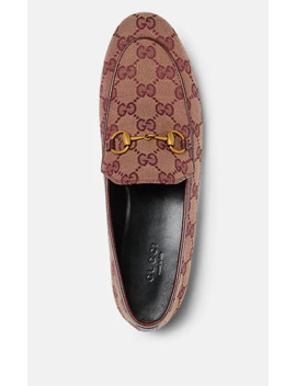 New Jordaan Canvas Loafers by Gucci