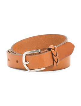 Made In Italy Leather Belt by Tj Maxx