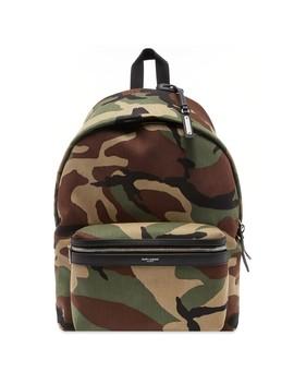 Saint Laurent City Backpack by Saint Laurent
