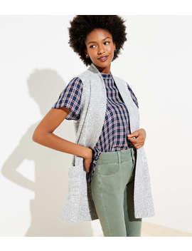 Pocket Open Sweater Vest by Loft