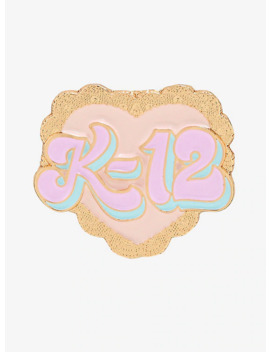 Melanie Martinez K 12 Heart Enamel Pin by Hot Topic