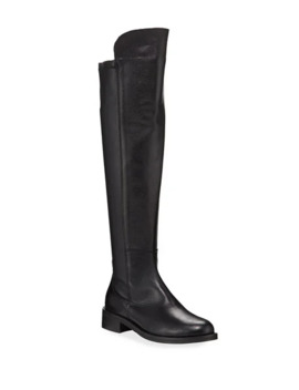 Sesto Meucci Forrie Stretch Leather Riding Knee Boots by Sesto Meucci