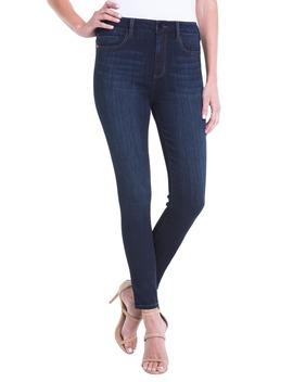 Bridget Coated High Waist Skinny Jeans by Liverpool