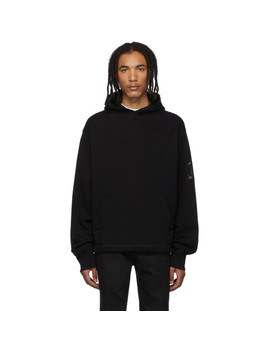 Ssense Exclusive Black Heavyweight Chemical Hoodie by Affix