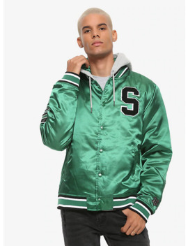 Harry Potter Slytherin Coaches Jacket by Hot Topic