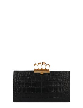 'four Rings' Clutch by Alexander Mcqueen