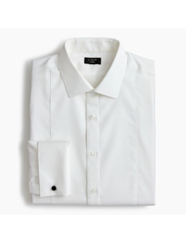 Ludlow Slim Fit Stretch Two Ply Piqué Bib Tuxedo Shirt by J.Crew