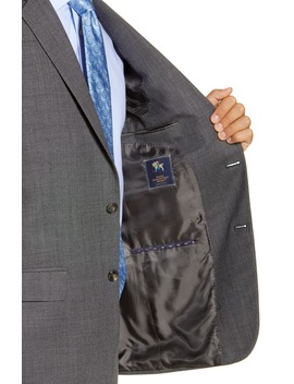 Classic Fit Dot Wool Suit by Hart Schaffner Marx