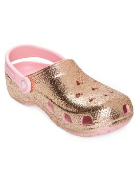 Briar Rose Gold Clogs For Adults By Crocs | Shop Disney by Disney