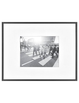 "8"" X 10"" Photo Thin Gallery Frame Black   Project 62™ by Project 62"