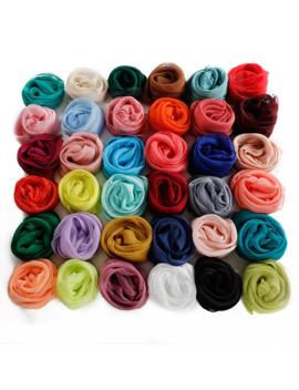 Solid Women Scarf Faux Silk Square Neck Scarves Men Bandana Hip Hop Handkerchief Rings Female Bufanda Mujer For Boys Girls Gift by Ali Express.Com
