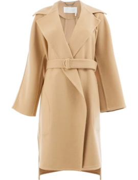 Belted Tailored Coat by Chloé