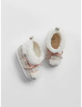 Baby Faux Fur Boots by Gap