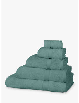 John Lewis & Partners Egyptian Cotton Towels, Eucalyptus by John Lewis & Partners