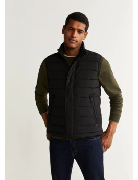 """<Font Style=""""Vertical Align: Inherit;""""><Font Style=""""Vertical Align: Inherit;"""">Ultralight Quilted Vest</Font></Font> by Mango"""