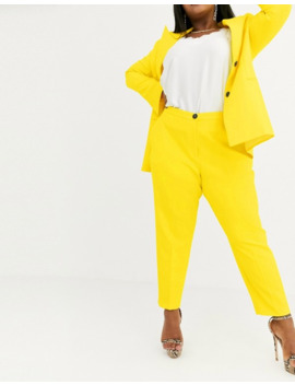 Asos Design Curve Pop Slim Suit Trousers by Asos Design