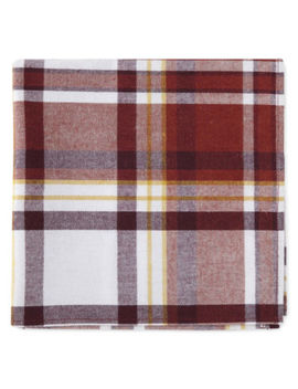Jc Penney Home Plaid 4 Pc. Napkins by Jcp Home