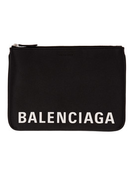Black Urban Pouch by Balenciaga