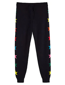 Ski Star Intarsia Cashmere Jogging Pants by Chinti And Parker