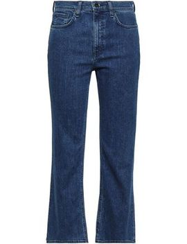Hannah Cropped High Rise Bootcut Jeans by Rag & Bone