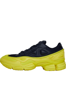 Adidas Originals X Raf Simons Mens Ozweego Trainers Bright Yellow/Night Navy/Night Navy by Adidas Originals