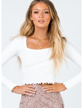 Eliza Long Sleeve Top by Princess Polly