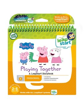 Leap Frog Peppa Pig Story Book 3 D by Smyths