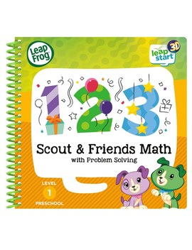 Leap Frog Scout & Friends Maths Activity Book 3 D by Smyths