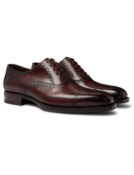 Wessex Leather Brogues by Tom Ford