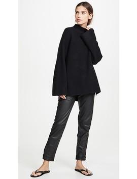 Milana Turtleneck Cashmere Sweater by Le Kasha