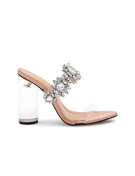 Blanck Mule In Transparente by Schutz