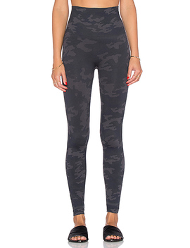 Look At Me Now Leggings In Black Camo by Spanx