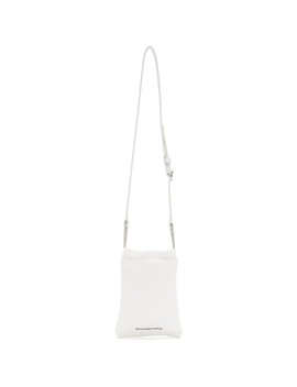 White Ryan Belt Bag by Alexander Wang