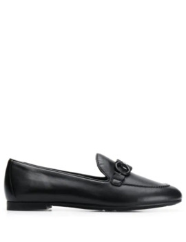 Loafers With Buckle Detail by Salvatore Ferragamo