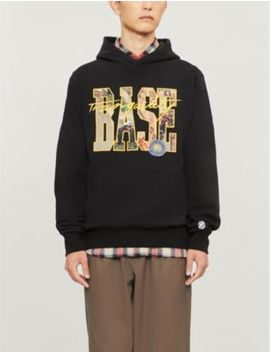 Graphic Print Cotton Jersey Hoody by Billionaire Boys Club