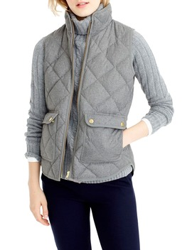 Excursion Quilted Flannel Vest by J.Crew