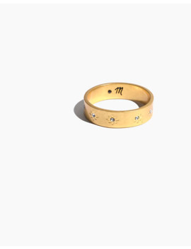 Twinkle Pavé Band Ring by Madewell