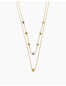 Enamel Starshine Necklace Set by Madewell