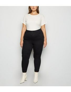 Curves Black 'lift & Shape' Skinny Jeans by New Look