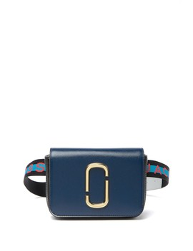 Hip Shot Leather Convertible Belt Bag by Marc Jacobs