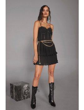 Cara Delevingne Believe Corset Dress by Nasty Gal